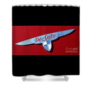 1937 Desoto Logo-7238 Shower Curtain