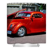 1937 Ford Coupe Shower Curtain