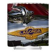 1937 Lagonda Shower Curtain