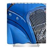 1937 Peugeot 402 Darl'mat Legere Special Sport Roadster Recreation Grille Emblem Shower Curtain