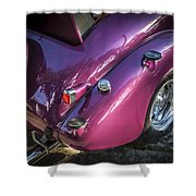 1938 Chevrolet Coupe With Rumble Seat Shower Curtain