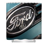 1938 Ford Pickup - 7465 Shower Curtain