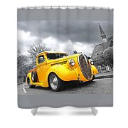1938 Ford Pickup Shower Curtain