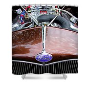 1938 Ford Roadster Shower Curtain