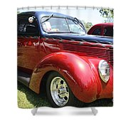 1938 Ford Two Door Sedan Shower Curtain