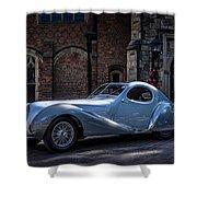 1938 Talbot Lago 150 - C  Teardrop Coupe Shower Curtain