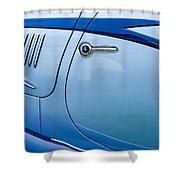 1938 Talbot-lago 150c Ss Figoni And Falaschi Cabriolet Side Door Handle Shower Curtain