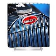 1939 Bugatti Type 57c Shower Curtain