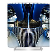 1939 Chevrolet Coupe Grille -115c Shower Curtain