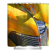 1939 Chevy Hood Shower Curtain