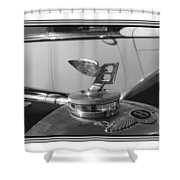 1939 M K 4 Bentley Flying B Mascot Shower Curtain