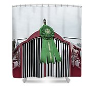 1939 Packard Shower Curtain
