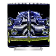 1940 Buick Shower Curtain