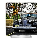 1940 Cadillac Coupe Shower Curtain