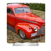 1940 Chevrolet 2 Door Sedan Shower Curtain