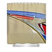 1940 Chevrolet Pickup Hood Ornament 2 Shower Curtain