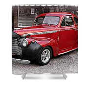 1940 Chevy Coupe Shower Curtain