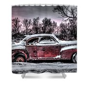 1940 Chevy Shower Curtain