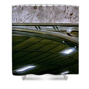 1940 Dodge Pickup Hood Ornament Shower Curtain
