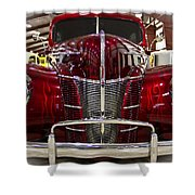 1940 Ford Class W Mild Street Rod Shower Curtain