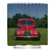 1940 Ford Deluxe  Shower Curtain