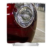 1940 Ford Front Left Light Shower Curtain