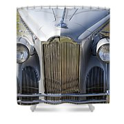 1940 Packard One-sixty Shower Curtain