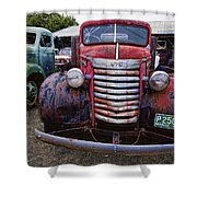 1940s G M C Truck Shower Curtain