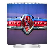 1941 Buick Eight Special Emblem Shower Curtain