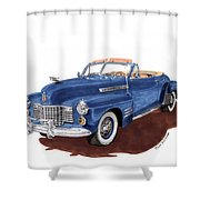 1941 Cadillac Series 62 Convertible Shower Curtain