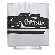 1941 Chrysler Indianapolis 500 Pace Car Shower Curtain
