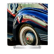 1941 Packard 110 Deluxe -1092c Shower Curtain