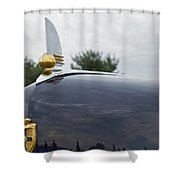 1942 Lincoln Shower Curtain