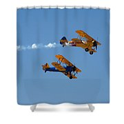 1943 Boeing B75n1 Shower Curtain
