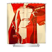 1946 - Soviet Red Army Victory Poster - Color Shower Curtain