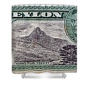 1946 Ceylon - Sri Lanka - Stamp Shower Curtain