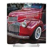 1946 Chevrolet Sedan Panel Delivery Truck  Shower Curtain