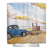 Yesteryear Shower Curtain