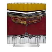 1946 Desoto Emblem Shower Curtain