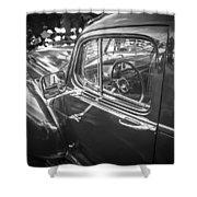 1946 Hudson Super Six Sedan Bw Shower Curtain