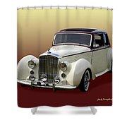1947 Bentley M K  5   G T X  Shower Curtain
