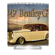 1947 Bentley Shower Curtain