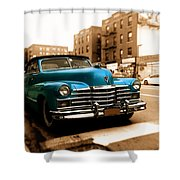 1947 Cadillac Convertible Shower Curtain