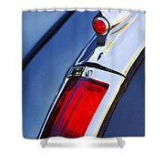 1947 Cadillac Model 62 Coupe Taillight  Shower Curtain