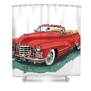 Cadillac Series 62 Convertible Shower Curtain
