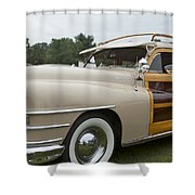 1947 Chrysler Shower Curtain