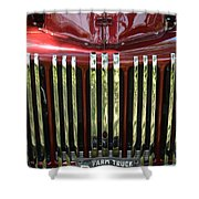 1947 Farm Truck Shower Curtain
