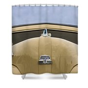1947 Ford Super Deluxe Wagon Shower Curtain