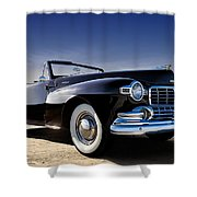 1947 Lincoln Continental Shower Curtain