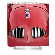 1948 Alfa Romeo Nardi Danese Convertible Shower Curtain